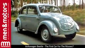 vw bug ute volkswagen beetle the first car for the masses youtube