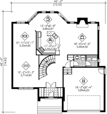 2575 sq ft house plan 25 4240 45 w x 48 d main floor kitchen