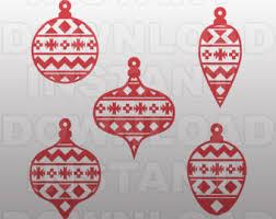 ornament svg etsy