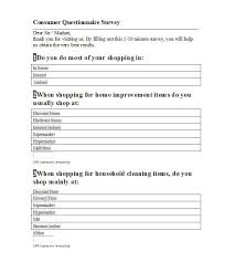 survey form template customer satisfaction survey template for
