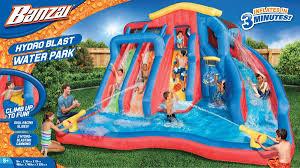 amazon com banzai hydro blast water park toys u0026 games