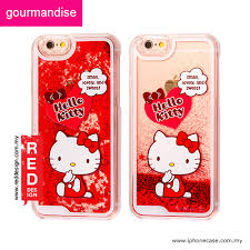 Apple Iphone 6s 4 7 Case Gourmandise Glitter Flow Kitty