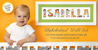 Personalization Baby Gifts Alphabatics