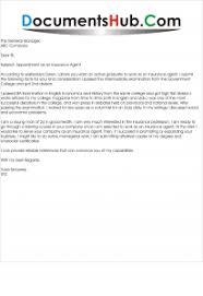 cover letter for insurance agent insurance agent sample cover letter