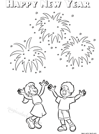new year book for kids coloring pages for kids happy new year archives magic color book