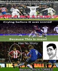 Fernando Torres Meme - spoof sunderland ace couldn t care less at chelsea star s strike