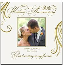 50th anniversary photo album 50th wedding anniversary photo album with
