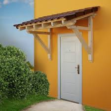 Front Porch Awnings Wood Canopy Porch Door Awning