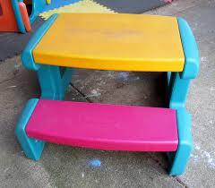 Playskool Picnic Table Little Tikes Picnic Table Kids Patio Furniture Kids Patio Tables