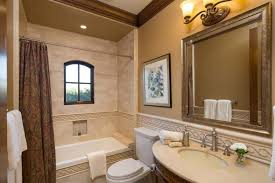 Bathroom Crown Molding Ideas Bathroom Traditional Bathroom With Mosaic Tile And Crown