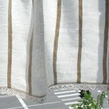 Smocked Burlap Curtains Burlap Curtain Panels Diy Smocked Linen Drapery Panels Burlap