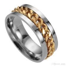 gold mens rings images 2018 mens rings ring finger gold engagement rings 8mm chain design jpg