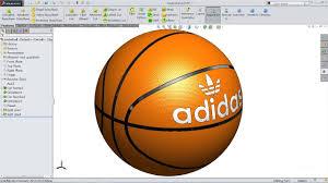 solidworks tutorial sketch basketball in solidworks solidworks