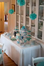 pretty goodie table for tiffany blue baby shower tiffany u0026 co