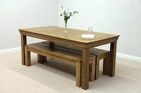dining table and bench set dining table with bench oak benches for dining tables design corner