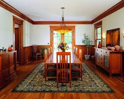 craftsman dining rooms with built ins dining room craftsman and