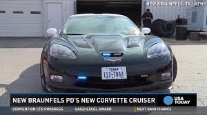 police corvette coptimus prime u0027 police corvette seized from drug ring