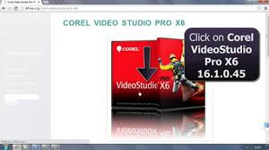 corel videostudio pro x6 16 with keygen free download