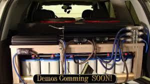Ford Explorer Build - 2004 explorer build update 25 amp rack in truck