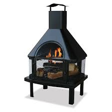 agreeable outside wood burning fireplace crafts home