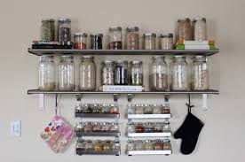Wall Mount Spice Rack Ikea Our Living Space A Photo Tour Daily Garnish