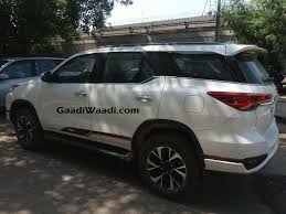 toyota website india toyota fortuner trd sportivo launched in india price specs