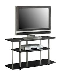 Small Bedroom Tv Stand 30 Inches Wide Amazon Com Convenience Concepts Designs2go 3 Tier Wide Tv Stand