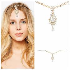 hair accessories india atreus indian princess style jewelry frontlet eyebrows fall