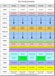 best 25 daily schedule template ideas on pinterest daily