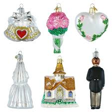amazon com old world christmas wedding collection ornament box