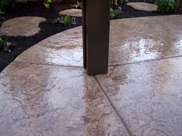Stamped Concrete Patio Prices by Sunset Construction