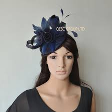 hair accessories melbourne 2017 new 8 colours navy blue kentucky derby hat sinamay fascinator