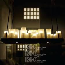 Candle Pendant Light Rectangle Candle Chandelier Discount Altar Modern Pendant L