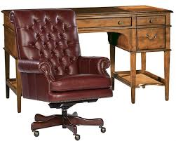 hekman desk leather top hekman office set w leather top leg desk he 71111 set