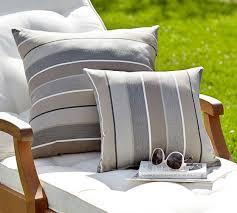 sunbrella stripe indoor outdoor pillow pottery barn