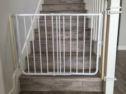 Baby Gates For Bottom Of Stairs With Banister Baby Safety Gate Installation Baby Safe Homes