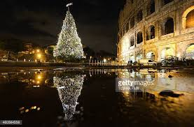 christmas lights in rome stock photos and pictures getty images