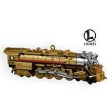 lionel trains hallmark ornaments