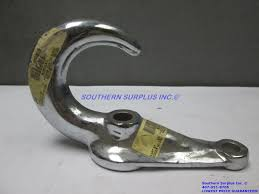 buyers b2800ac chrome drop forged towing tow hook 13 500 lb