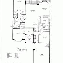 One Story Luxury Home Floor Plans House Plans Simple One Story House Floor Plans One Story Home One