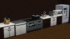 minecraft furniture kitchen everyday genius minecraft