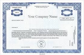 corporate bond certificate template corporate bond certificate