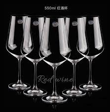 bicchieri boemia repubblica di cristallo di boemia uva importato vino rosso calice