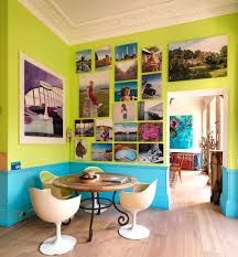 Lime Green Dining Room Design Ideas Turquoise And Lime Green Dining Room With A
