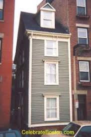 narrowest house in boston skinny house attraction in boston at just over 10 feet wide