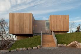two houses mackay lyons sweetapple architects limited two hulls house