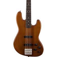 fender deluxe active jazz bass okume rosewood fingerboard electric
