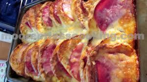 egg strata casserole english muffin ham and egg strata overnight bake
