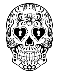 kidscolouringpages orgprint u0026 download mexican sugar skull