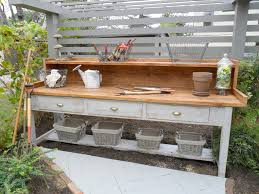 how to build a work table exceptional how to build a garden work bench garden work bench plans